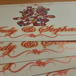 wedding emcee cue cards