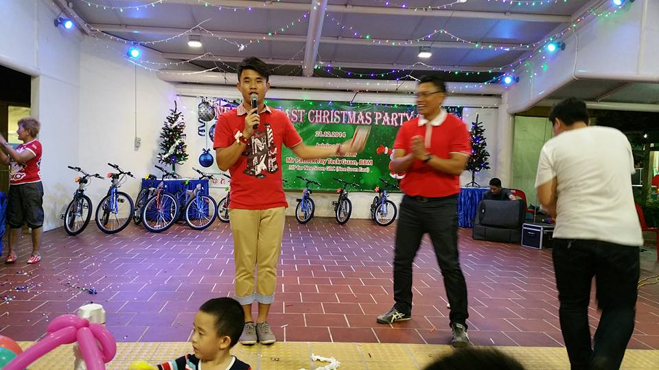 Emcee For Community Event in Singapore