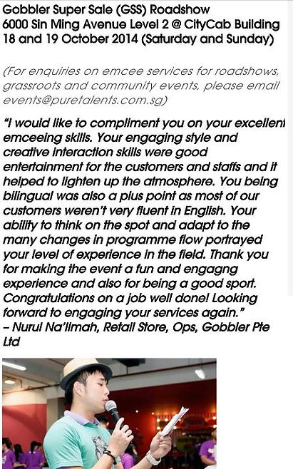 corporate event emcee testimonial 3