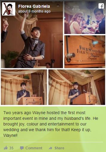 wedding emcee testimonial 7