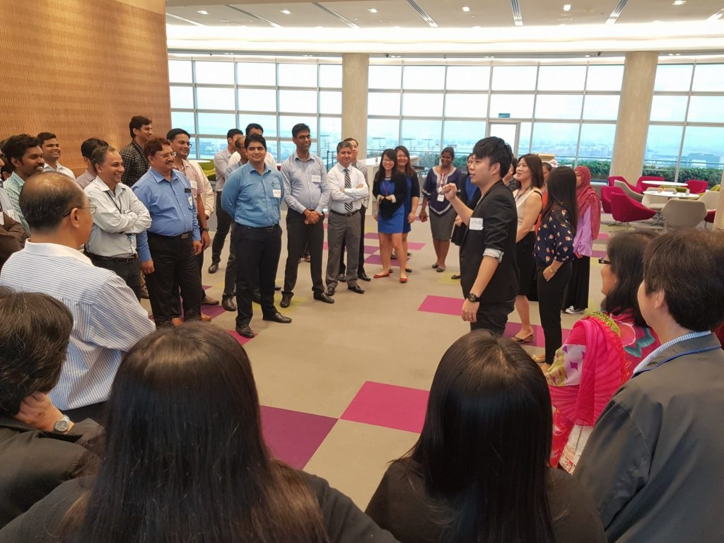 Team Building For Tech Mahindra and JTC