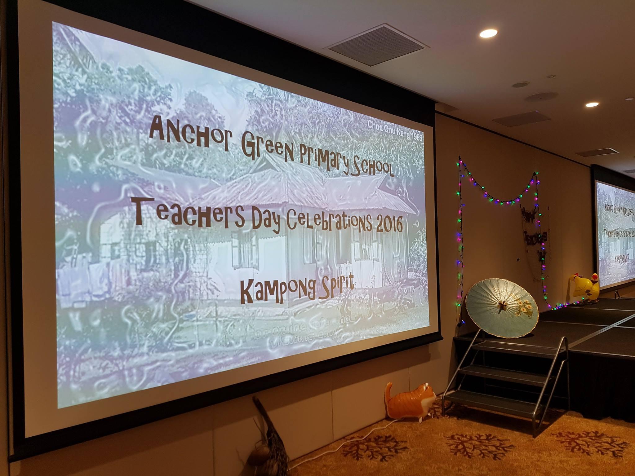 Anchor Green Teacher Day Celebration