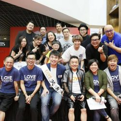 group photo Love 97.2 FM King of Jokes
