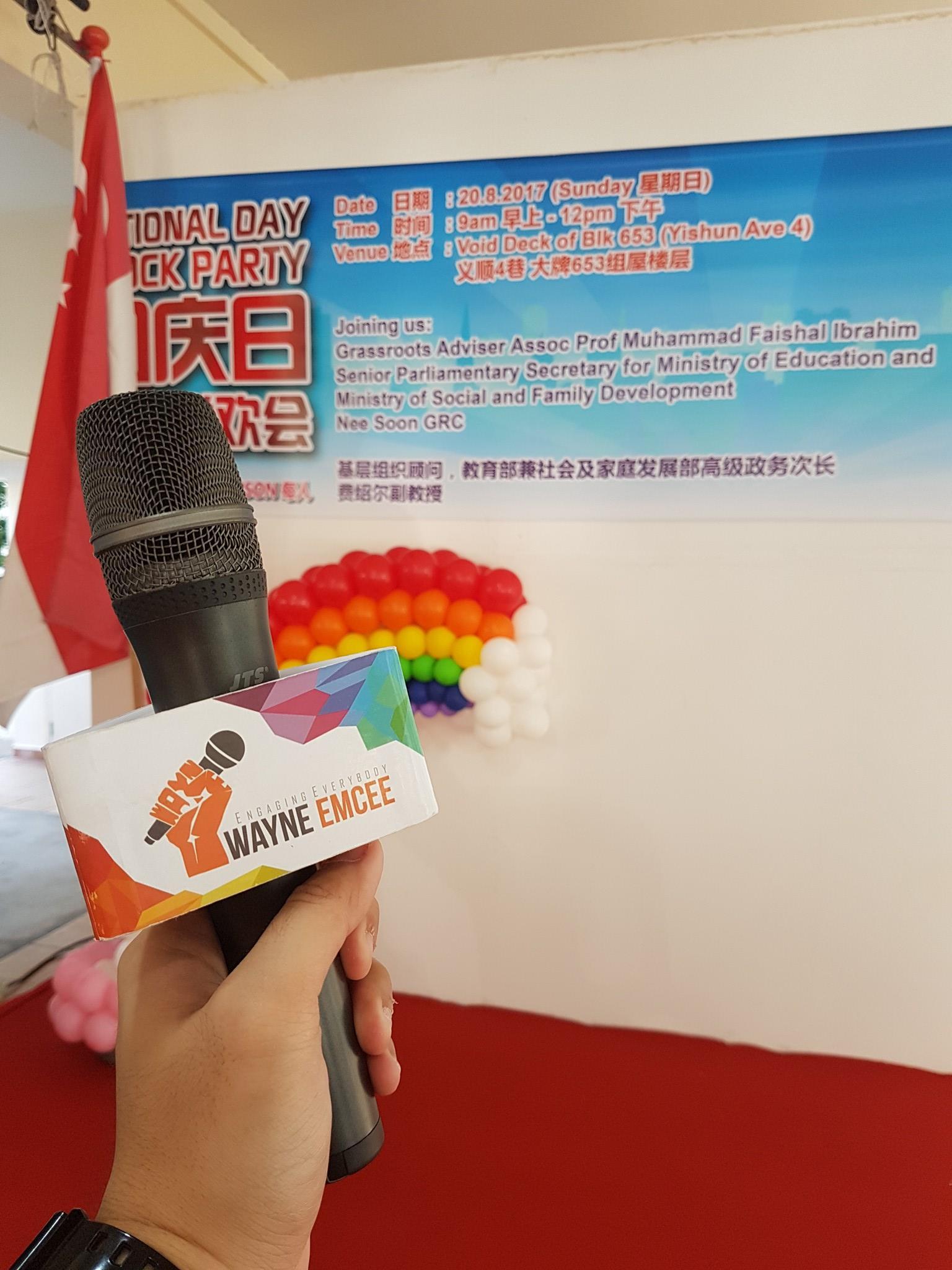 Post National Day Celebration at Yishun