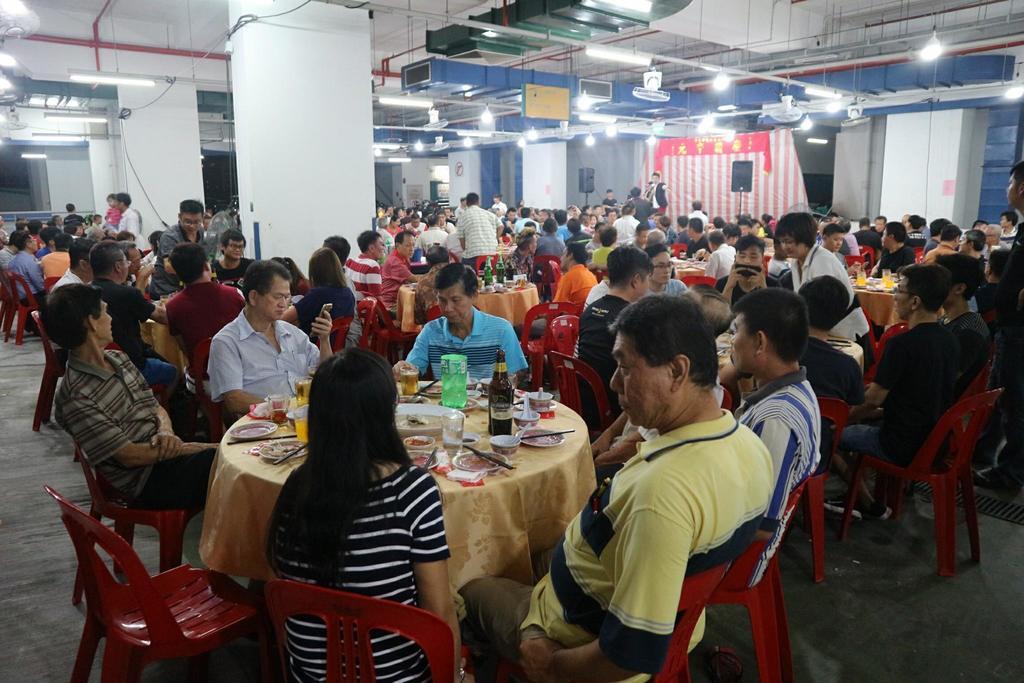 Sin Ming Autocare Merchant Association's 7th month dinner
